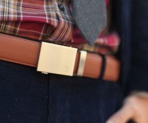 Micro-Adjustable No-Holes Belt