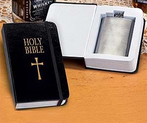 Holy Bible Flask