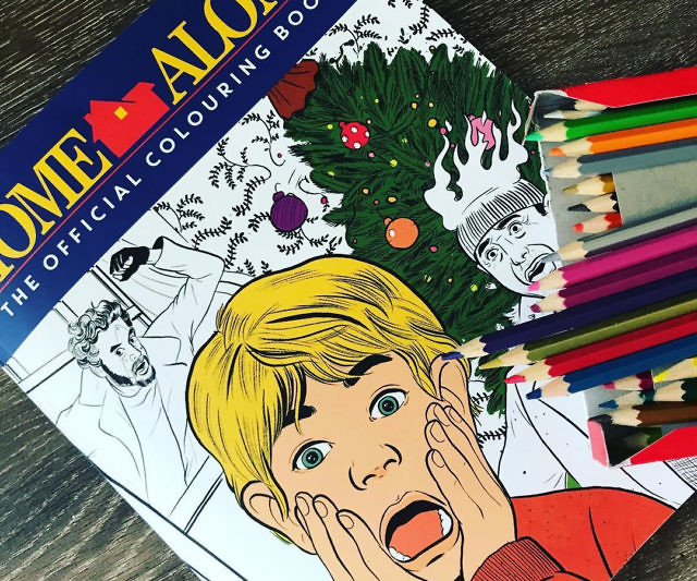 Home Alone Coloring Book