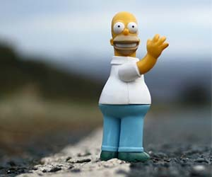 Homer Simpson Action Figure