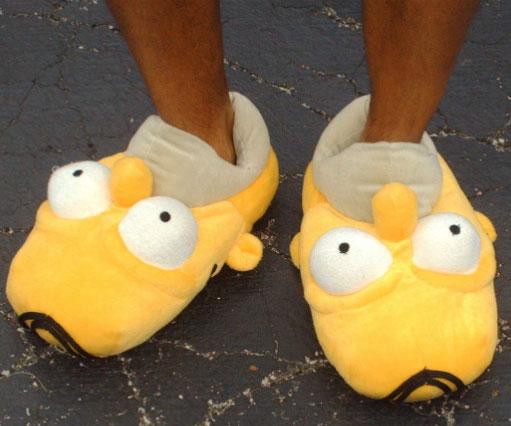 dbee143f7ef4c Homer Simpson Slippers