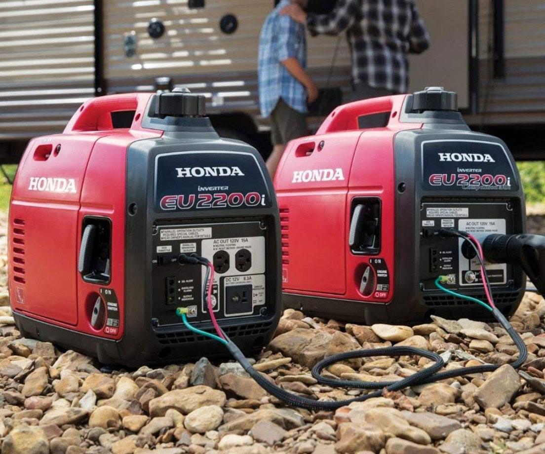 Honda Super Quiet Portable Generators