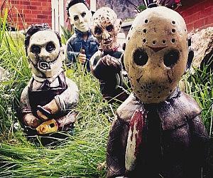 Gentil Horror Movie Garden Gnomes