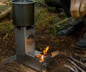 Hot Ash Wood Burning Stove