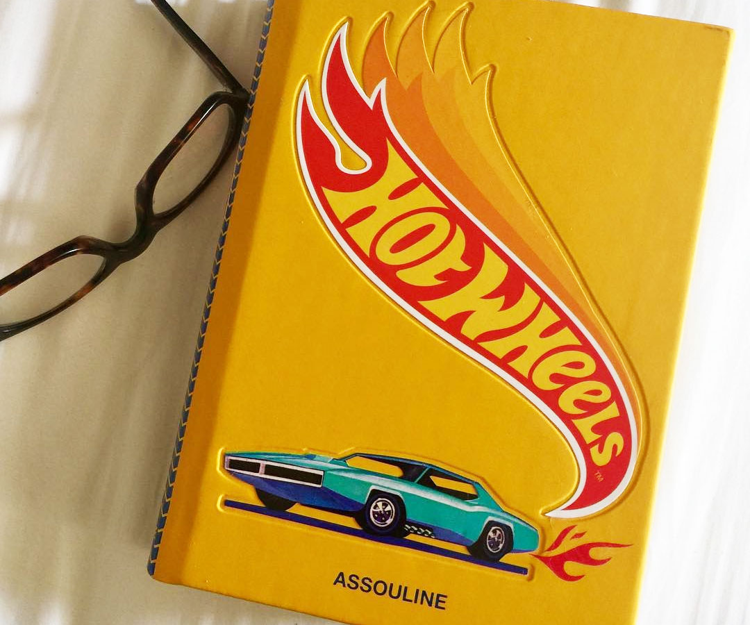 Hot Wheels Coffee Table Book