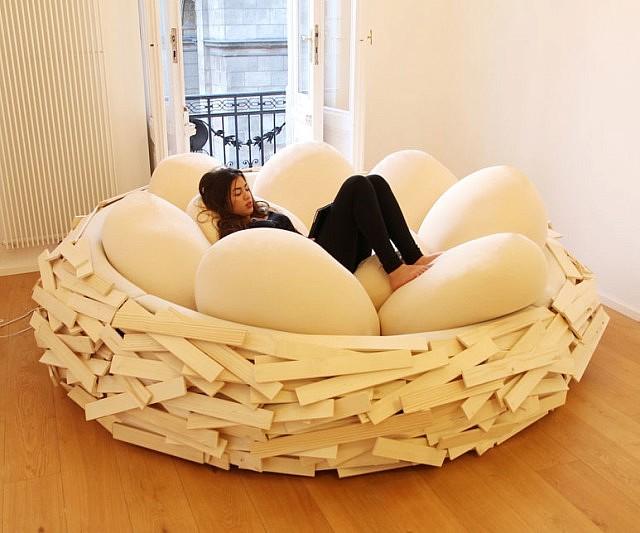 Lovely Giant Birdu0027s Nest Bed Awesome Design