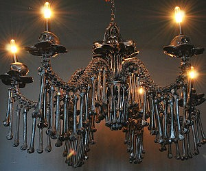 Luxury Human Bones Chandelier