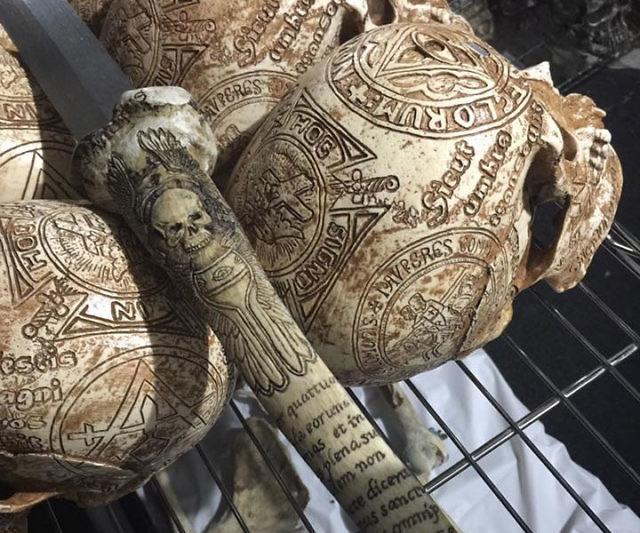 Real Human Tibia Bone Sword