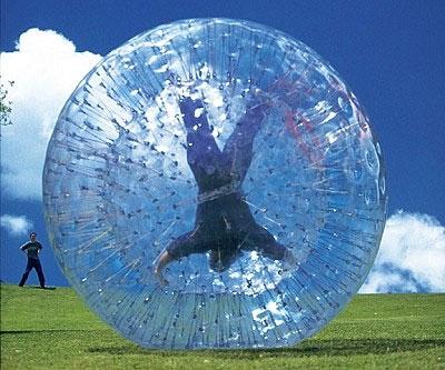 Human Hamster Ball - coolthings.us