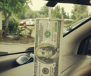 Hundred Dollar Bill Air Freshener