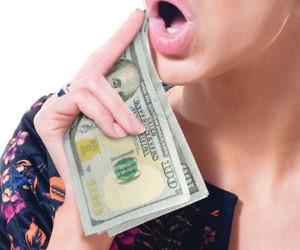 Hundred Dollar Bill Napkins