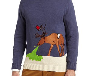 Hungover Reindeer Sweater