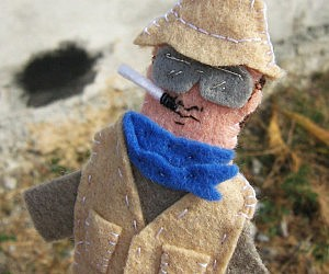 Hunter S. Thompson Finger Puppet