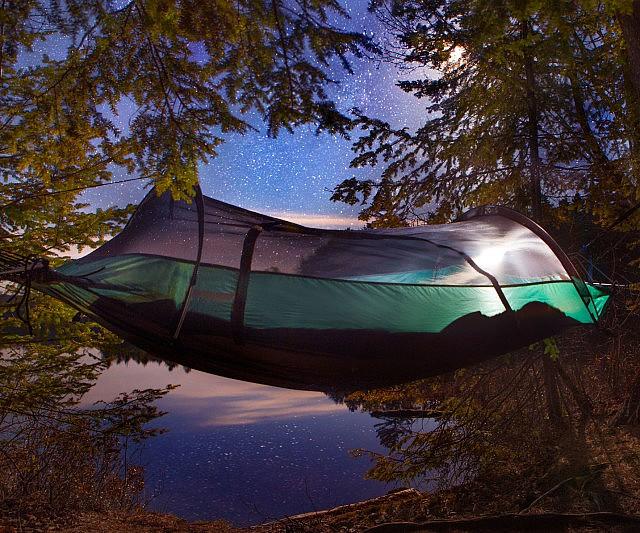 Hybrid Tent Hammock & Tent Hammock