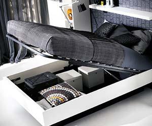 & Hydraulic Storage Bed