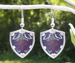 Hylian Shield Earrings