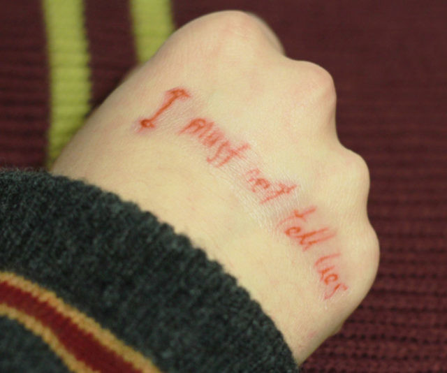 Harry Potter Temporary Tattoo