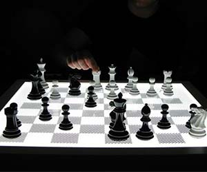 Illuminated Chess Board