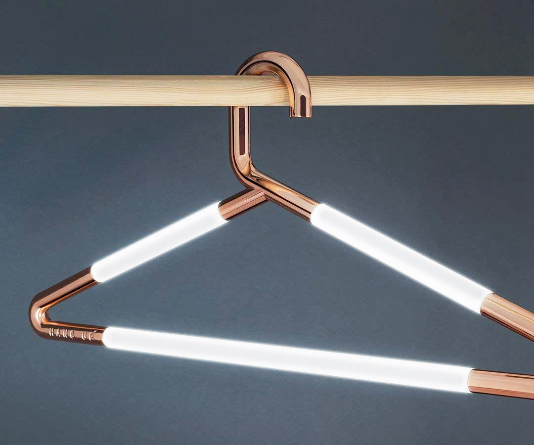 Illuminated Clothing Hangers - coolthings.us