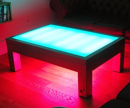 Fabulous Illuminated Coffee Table Frankydiablos Diy Chair Ideas Frankydiabloscom