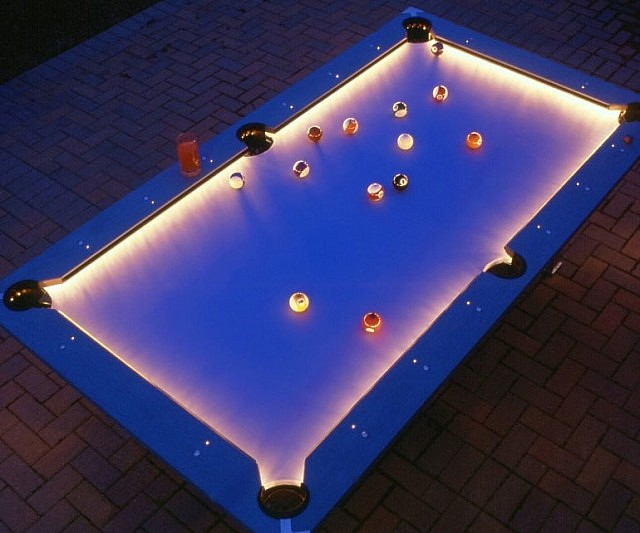 Edges pool table illuminated edges pool table greentooth Choice Image