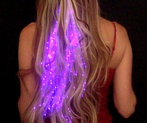 Illuminated Hair Extensions