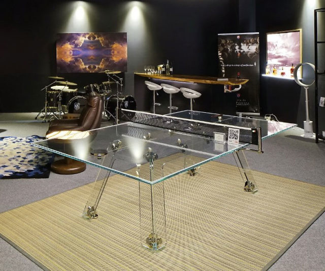 Glass Ping Pong Table Glass Designs