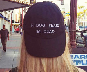 1604ef67373 In Dog Years I m Dead Hat