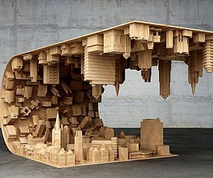 Inception Inspired Coffee Table