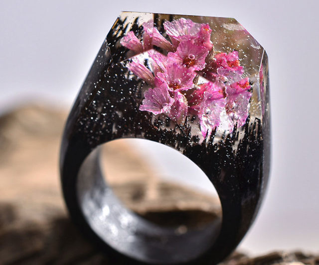Tire Tread Wedding Bands 76 Trend Enchanted Landscape Rings