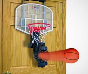Indoor Basketball Returning Hoop
