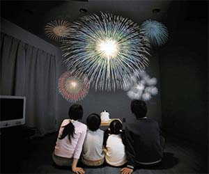 Indoors Fireworks Show