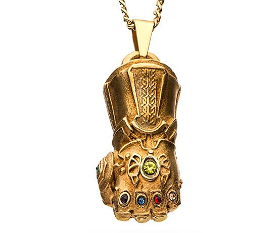 Infinity Gauntlet Pendant Necklace