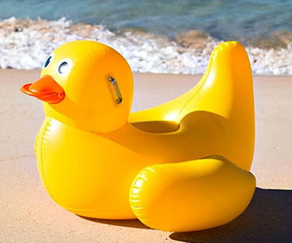 Great Rubber Ducky Float