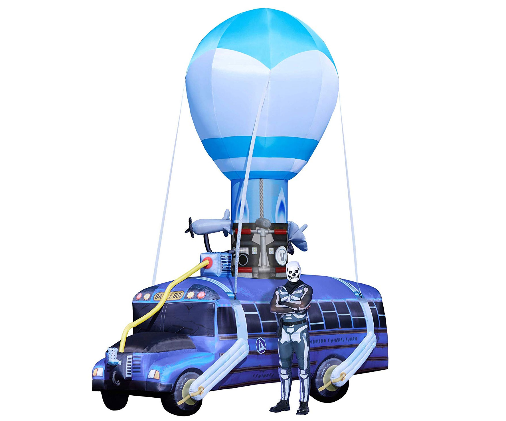 Inflatable Fortnite Battle Bus