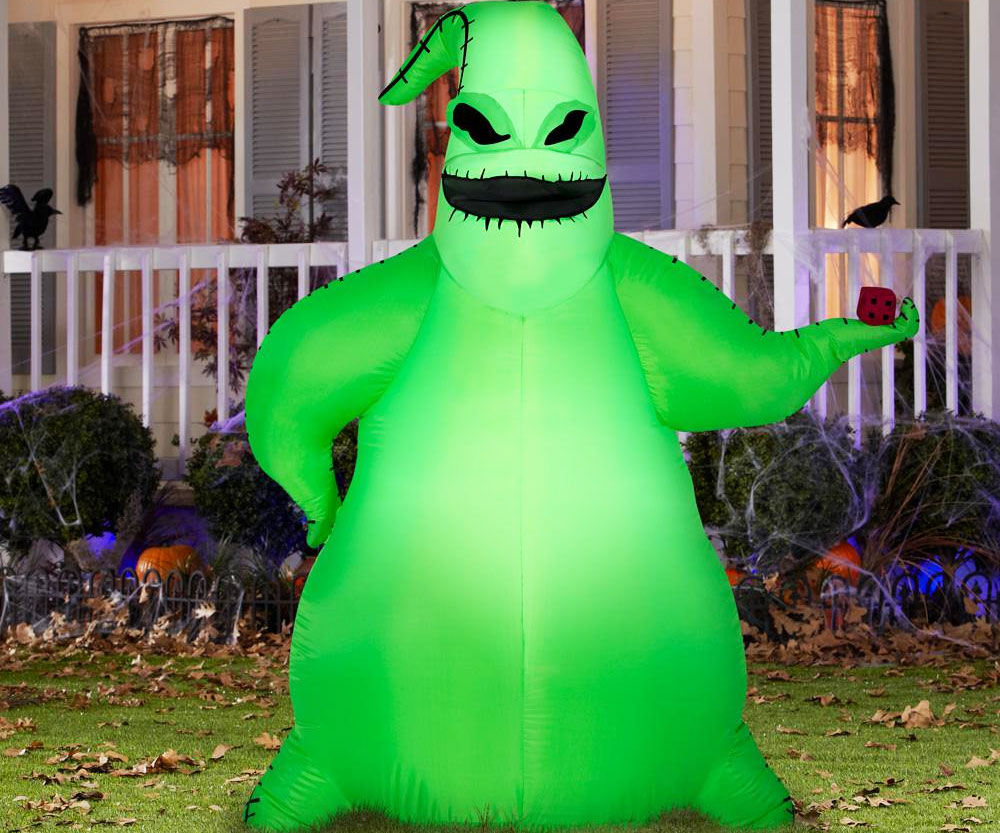 Inflatable Green Oogie Boogie