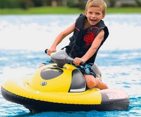 Kid S Inflatable Jet Ski