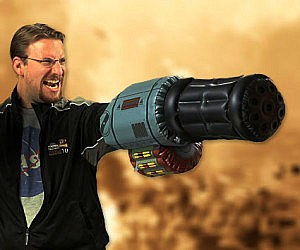 Inflatable Minigun Arm