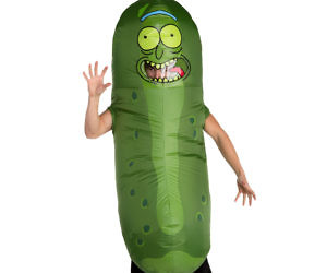 Pickle Rick Inflatable Cos...