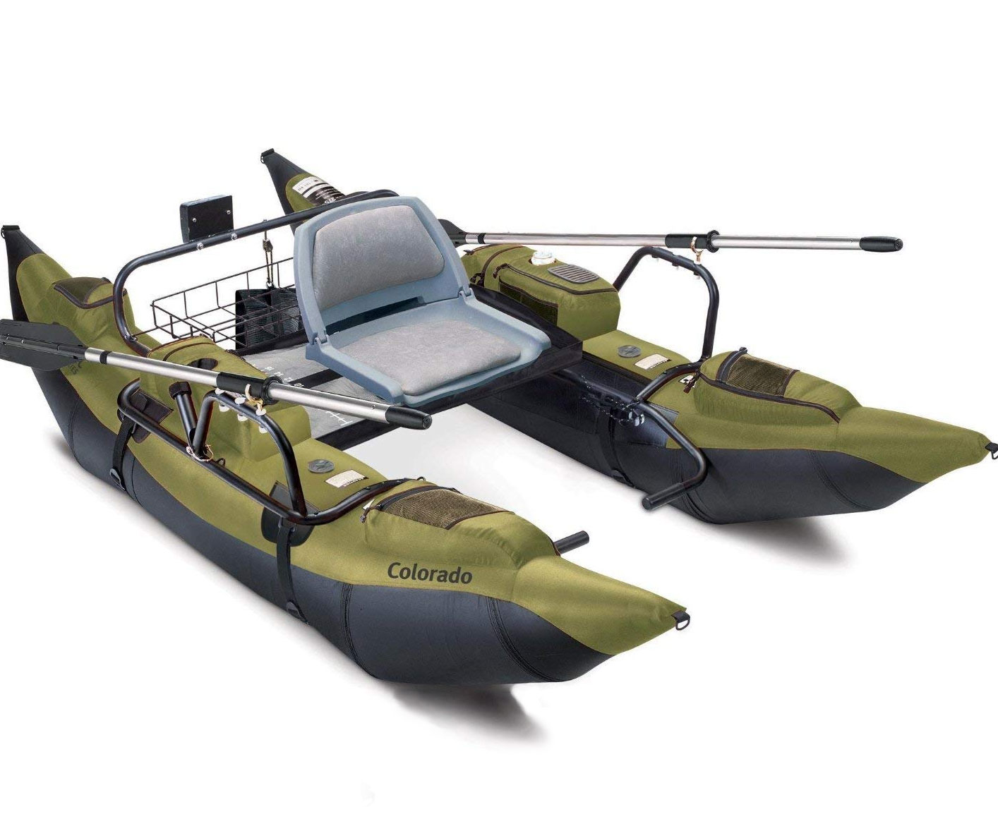 Inflatable Pontoon With Motor Mount