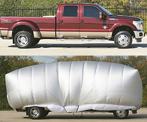 Inflatable Car Hail Protector