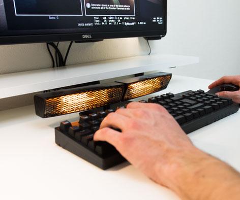 Infrared Keyboard Hand Warmer