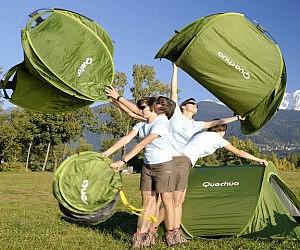 & Pop Up Tent