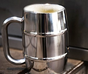 Insulated Stainless Steel Beer Mug