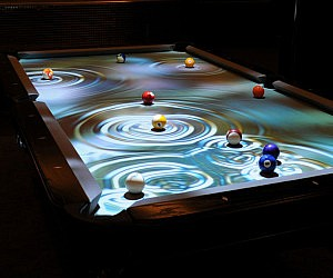 Laser pool table, never miss another shot, great for learning and.