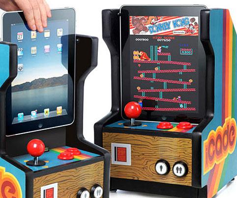 iPad Arcade Cabinet