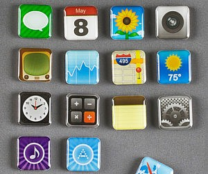 Smart Phone App Magnets