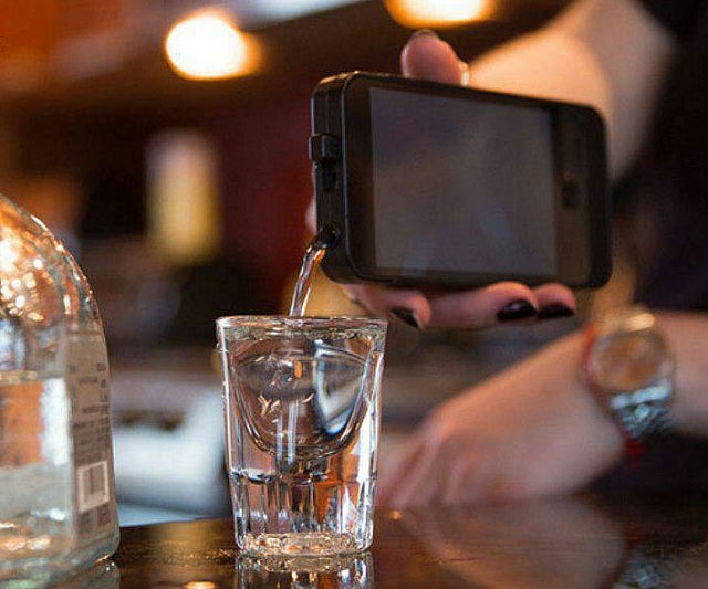 iPhone Shaped Flask