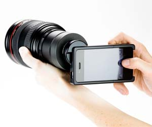 iPhone SLR Adapter