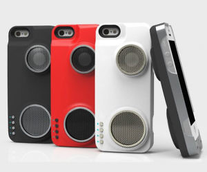 iPhone Speaker Case
